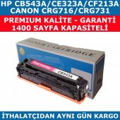 Hp 125a Cb543a Kırmızı Muadil Toner Cf213a Ce323a Crg716 Crg731