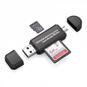 Micro Usb Telefon Adaptörü Micro Sd Sd Kart Usb Okuyucu Dönüştürü