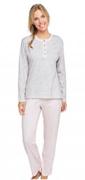 çift Kaplan 7174 Normal Ve Büyük Beden Modal Bayan Pijama Takım