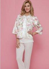 Marilyn 1826 3lü Bayan Pijama Takım