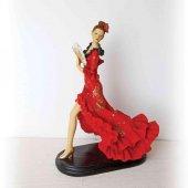 Vitale Bella Yelpazeli Flamenco Dansçı Kadınlar 25cm