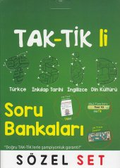 Tonguç Akademi 8. Sınıf Tak Tik Li Sözel Soru Bankası Seti