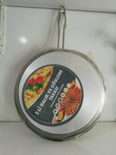 çift Taraflı Balık Ve Gözleme Krep Tavası 2 Li Tava 32 Cm Çap