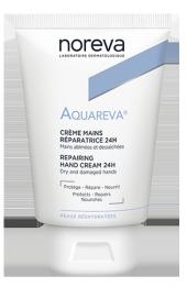 Noreva Aquareva 24h Repairing Hand Cream 50ml 24 Saat Nemlendirici El Kremi