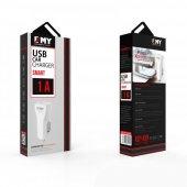 Emy My 110 Mikro Usb Araç Şarj Cihazı