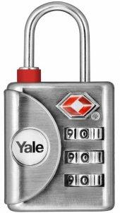 Yale Kontrol Göstergeli Şifreli Asma Kilit (Tsa On...