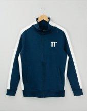 11 Degress Lacivert Ceket Beyaz Şerit