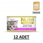 Nutri Feline Tavuk Etli Ve Ton Balıklı Yavru Kedi Konservesi 85 G
