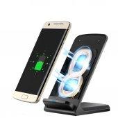 Iphone X 8 8plus Samsung S8 S8plus Standlı Kablosuz Şarj Aleti