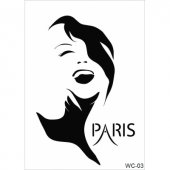 Wc3 Woman Collection Cadence A4 Stencil