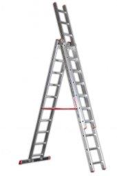 Cömert A Tipi Üstüne Sürgülü Alüminyum Merdiven 3,5+3,5 Mt
