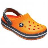 Crocs Crocband Clog K Blazing Orange Çocuk Terlik Cr0147