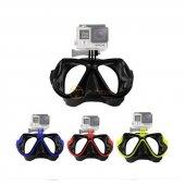 Aksiyon Kameralar İçin Su Altı Dalış Maskesi
