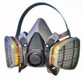 3m 6200 Yarım Yüz Maskesi + 2 Adet Filtreli Set So...