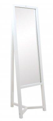 Trz 19 Ahşap Boy Aynası Beyaz