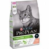 Kısırlaştırılmış Kediler İçin Proplan Somonlu Kedi Maması 3kg