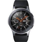 Samsung Galaxy Watch (46mm) (Android Ve İphone Uyumlu) Gümüş Sm