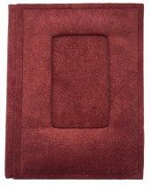 Kadife Kumaş Yüzey 14+1 15x21 Fotoğraf Albümü Kırmızı