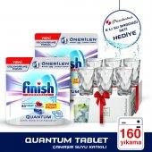 Finish Quantum Tablet 2x80li Oxi+paşabahçe 6lı Su Bardağı Hediye