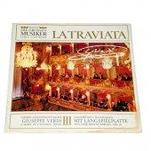 Plak La Traviata Kitapçıklı