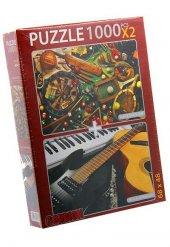 Musical Instruments Ve Classic Sports 2x1000 Parca Yapboz Puzzle