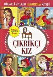 çıkrıkçı Kız Hikayeli Sticker (Çıkartma) Kitabı