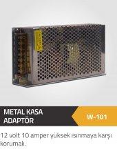 Winkel 12 Volt 10 Am. Mini Metal Kasa Yüksek Isınmaya Karşı Koru