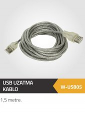 Winkel Usb Uzatma Kablo 1.5 Metre