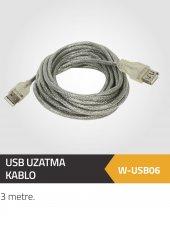 Winkel Usb Uzatma Kablo 3 Metre