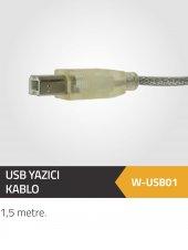 Usb Yazıcı Kablo 1.5 Metre