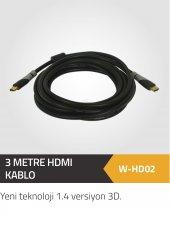 3 Mt.hdmı 1.4 Versiyon 4k Bakır Kablo