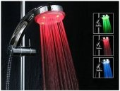 Renk Değiştiren Led Işıklı Duş Başlığı