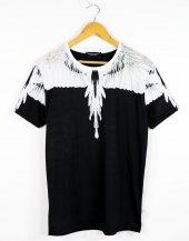 Mercelo Burlon Srtyle Beyaz Dijital Baskı Erkek Tişört