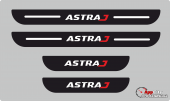 Astra J Plastik Kapı Eşiği (4lü Set)