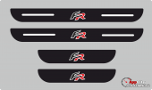 Seat Fr Plastik Kapı Eşiği (4lü Set)