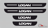 Dacia Logan Plastik Kapı Eşiği (4lü Set)