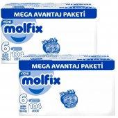 Molfix 6 Beden Extra Large 15 + Kg 104 Adet 2li Set
