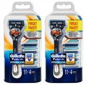Gillette Fusion Proglide Tıraş Makinesi + 4lü Yedek 2li Set