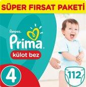 Prima Külot Bebek Bezi 4 Beden Maxi Jumbo Paket 56 Adet 2li Set