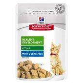 Hills Science Plan Kitten Okyanus Balıklı Yavru Pouch Kedi Konser