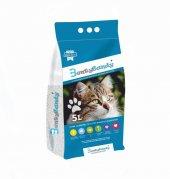 Benty Sandy Ultra Topaklaşan Kedi Kumu(Sabun Kokulu) 5 L