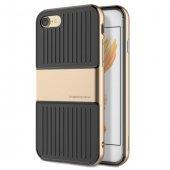 Baseus Travel Gold İphone 7 8 Kılıf Arka Koruyucu Kapak