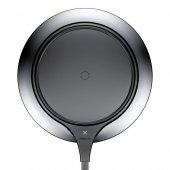 Baseus Metal İphone Wireless Hızlı Siyah Şarj Cihazı 7.5w