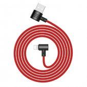 Baseus Lightning Ve Micro Usb Kırmızı Şarj Kablosu