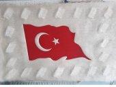 Türk Bayrağı İşlemeli Panolar