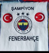 Fenerbahçe Ve Türkiye Amblemli Kilim 65x85 Cm