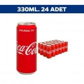 Coca Cola Kutu 330 Ml X 24