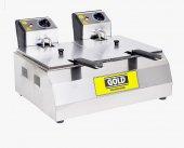 Fritöz Kızartma Makinası 5+5 Litre Elektrikli Frit...