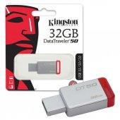 Kingston Datatraveler50 32gb Usb 3.0 Bellek Dt50 32gb