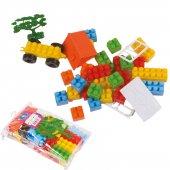 Güçlü Özel Mini Bloklar 37 Parça (Pvc T)